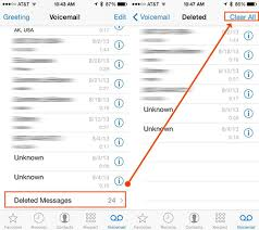 How to Retrieve Deleted Voicemails Messages on iPhone 7 6s SE 6 5s