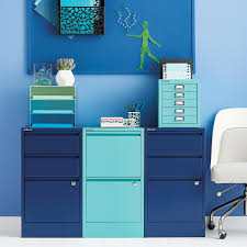 bisley aqua 5 drawer cabinet the container store