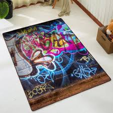 wand graffiti wohnzimmer teppich kostüm geschenk boden rugbedroom teppich teppich teppich teppich teppich wärmendes geschenk idee