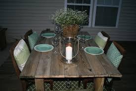 furniture 25 photos diy outdoor dining set designs diy metal