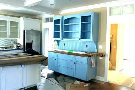 Kitchen Buffet Table Blue Dining Room Cabinet