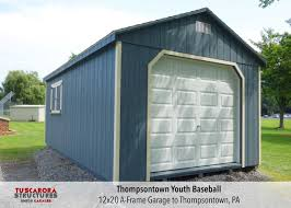 12x20 Shed Material List by Mini Barns Storage Shed And Garage Prices Tuscarora Structures