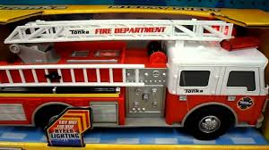100 Tonka Fire Rescue Truck BEST FIRE BRIGADE TONKA TOY RESCUE ENGINE With Siren SOUNDS And