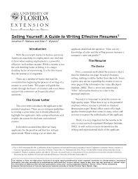 Effective Resume Sample Examples Infoe Link