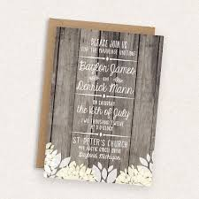 DIY Printable Wedding Invitation