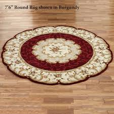 Round Red Bathroom Rug by Area Rugs Round Rugs Touch Of Class