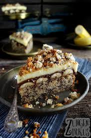 schokobananen kuchen mit pudding zungenzirkus