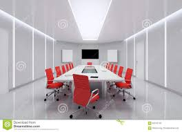 Modern Meeting Room. 3d Illustration. Stock Illustration ... Meeting Fniture Boardroom Tables Office Conference Room Chairs Beautiful Contemporary Meeting Room Fniture Factory Direct Sale Modern Table With Colored Interior Design 3d Side View New Wooden In Of Business Center Board Large And Red Executive Richfielduniversityus Western Workplaces That Spark Innovation Affordable Minimalist Desk Chair Shop
