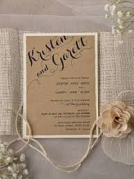 Wedding Invitation Kits Rustic Beautiful Moritz Flowers