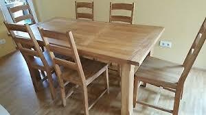 tisch 6 stühle provence dänisches bettenlager eur 272