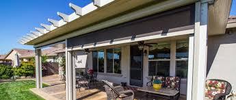 100 House Patio Outdoor Solar Shades Of Blinds Inc Laguna Hills CA