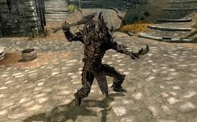 Dual Wielding Daedric Weapons In The Elder Scrolls V Skyrim