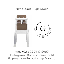 NUNA ZAAZ HIGH CHAIR Di Rental Car Seat, Stroller, Toys ... Nuna Zaaz Highchair Review Buggybaby Nuna High Chair Zaaz Kursi Makan Baby Zaaz High Chair In N3 Barnet For 6000 Sale Shpock High Chair Strolleria Di Rental Car Seat Stroller Toys Official Baby Store Singapore Shop At Little Boon Flair Pneumatic Lift Rolling Pedestal Toddler Child Feeding Review Best Chairs 2019 Popsugar Family