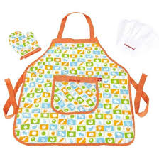 hape chef s apron hat set for kids toy at mighty ape nz