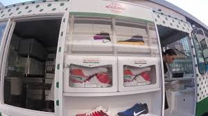 Nike Basketball Unveils The KY-RISPY KREME Kyrie 2 - YouTube Huge Rat Runs Off With Krispy Kreme Doughnut Across Car Park As Nike Teams Up With Krispy Kreme For Special Edition Kyrie 2 From The Ohio River To Twin City North Carolina Nike And Make For An Unlikely Sneaker Collaboration Greenlight Colctibles Hitch Tow Series 4 Set Nypd Doughnuts Plastic Delivery Truck Van Coffee Tea Cocoa Close Blacksportsonline Amazoncom 164 Hd Trucks 2013 Intertional Full Print Freightliner Sprinter Wrap Car