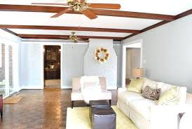 Living Room Curtains Walmart by Living Room Ceiling Beams Gray Washing The Ceiling Beams In Our