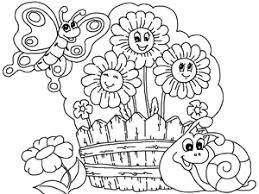 Flower Garden Coloring Page 15 Flowers Pages