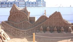 Sand Castles Sculpture Sandcastle Summer Vacation Inspriration Ideas
