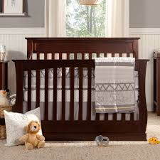 Sorelle Verona Double Dresser Combo French White by Davinci Glenn 4 In 1 Convertible Crib With Toddler Bed Conversion