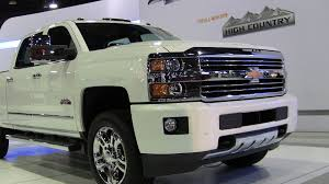 2015 Chevy Silverado HD High Country Debuts At 2014 Denver Auto Show ...