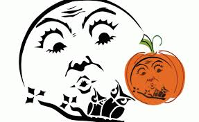Pumpkin Carving Witch Face Template by Tag Pumpkin Carving Vintage Fangirl