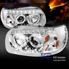 2005 2007 ford escape dual halo smd led projector headlights chrome