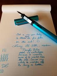 Blue Pumpkin Nib by New Pen Album On Imgur