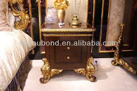 0063 Wooden Carving Royal Bedroom Furniture Expensive