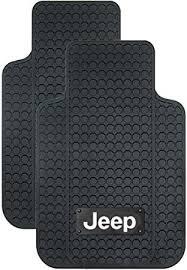 Amazon PlastiColor Jeep Logo Car Floor Mats Automotive