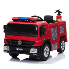 100 Fire Truck Kids Alison Electric Car Child Ride On Toy Baby Toy Car