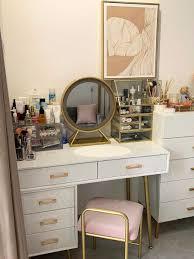 nordic kommode für schlafzimmer moderne minimalistischen dressing tisch und stuhl mit spiegel goldene schmiedeeisen bein wohnzimmer möbel