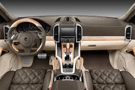 Interior Porsche Cayenne TopCar GT 958 1 Dark Green TopCar