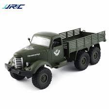 100 Rc Military Trucks JJRC Q60 116 24G 6WD RC Off Road Truck Transporter RC
