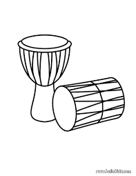 Drums Coloring Pages And Drum Page