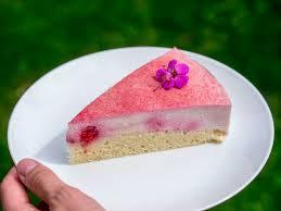 vegane rhabarber creme torte