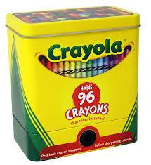 Crayola Bathtub Crayons Collection by Amazon Com Crayola Crayons With Built In Sharpener 96 Count