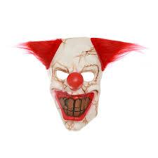Creepy Clown Pumpkin Stencils by Aliexpress Com Buy 1 Pcs Scary Clown Mask Evil Creepy Horror