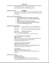 Resume Examples For Salon Job Also Sample Large Related