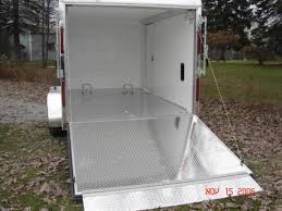 Checkerboard Vinyl Flooring For Trailers by Custom Motorcycle Trailer Photos From Car Mate Car Mate Trailers