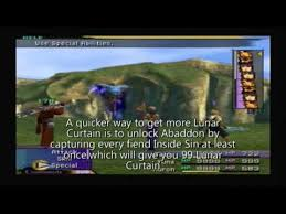 Ffx Light Curtain Bribe by Ffx How To Get Auto Shell Youtube
