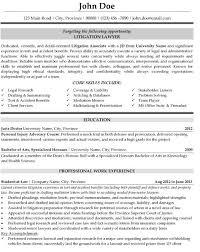 Resume Examples Lawyer ResumeExamples