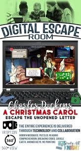 Escape The Unopened Letter A Christmas Carol Digital Escape Room Is