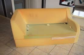 refaire assise canapé a mains nues rénovation d un canapé en simili cuir
