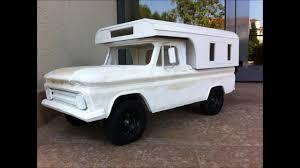 100 Alaskan Truck Camper Chevrolet K10 1965 Home Made YouTube
