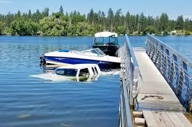 100 Truck Boat Launch Goes Awry Truck Becomes Submerged In Silver Lake The