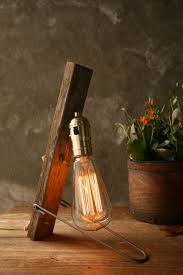 l industrial light wood l industrial lighting cool gifts for