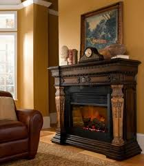 St Andrews Rustic Electric Fireplace