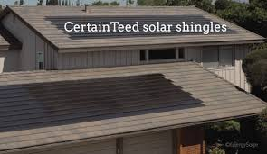 2018 certainteed solar shingles review solar roof comparison