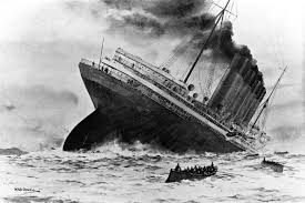 Where Did The Lusitania Sink Map by Geogarage Blog 5 3 15 5 10 15