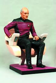 Star Trek Captains Chair by Feb131671 Star Trek Tng Capt Picard In Chair 1 6 Statue